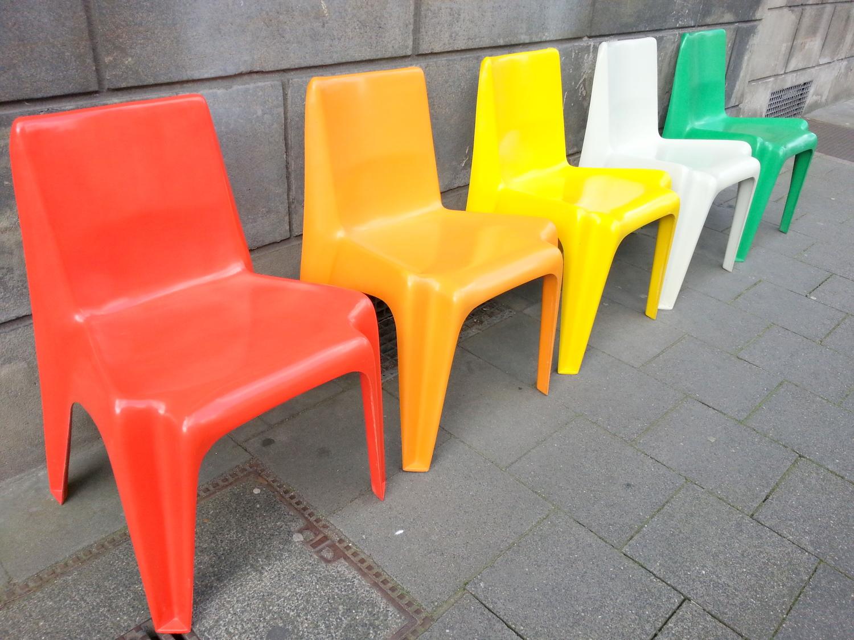 Esstisch Rund Orange ~ BofingerStapelStuhl « 69m² Concept Store