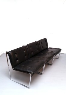 69m2_Düsseldorf_SesselSet_Sessel_Couch_Ledersessel_schwarz_Chrom_vintage_DesignKlassiker_3