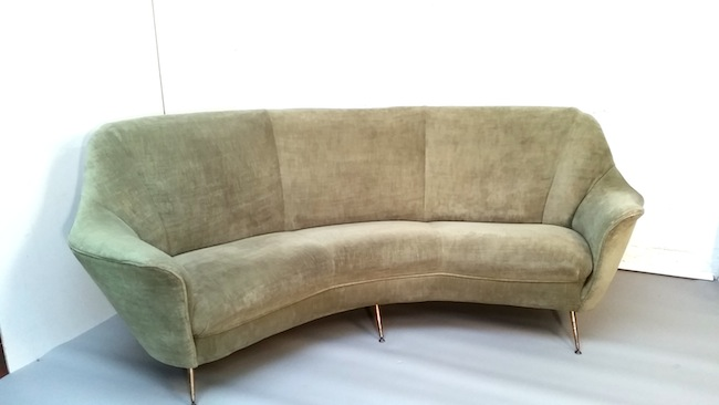 Sofa halbrund  Fifties Sofa. VERKAUFT. « 69m² Concept Store