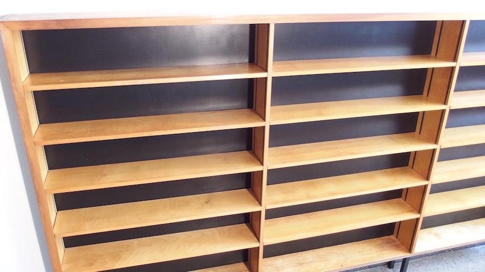 schmales regal 69m. Black Bedroom Furniture Sets. Home Design Ideas